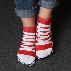 Kotníkové ponožky s různými motivy - unisex