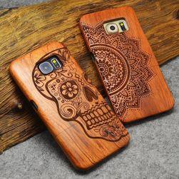 Carcasă din lemn originală pentru Samsung Galaxy - diverse teme