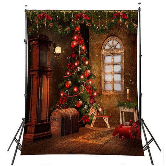 Fénykép háttér karácsonyi motívummal - karácsonyfa 1