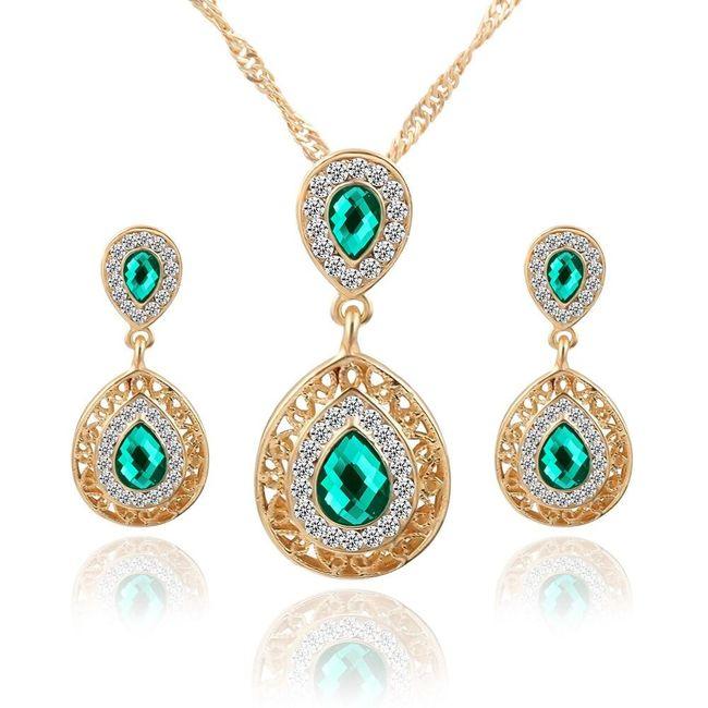 Komplet biżuterii AS112 1