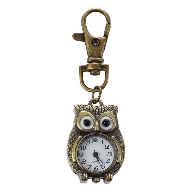 Džepni sat u obliku sove 1