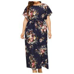 Женское платье размера плюс Buana