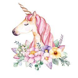 Naljepnica na peglanje Unicorn