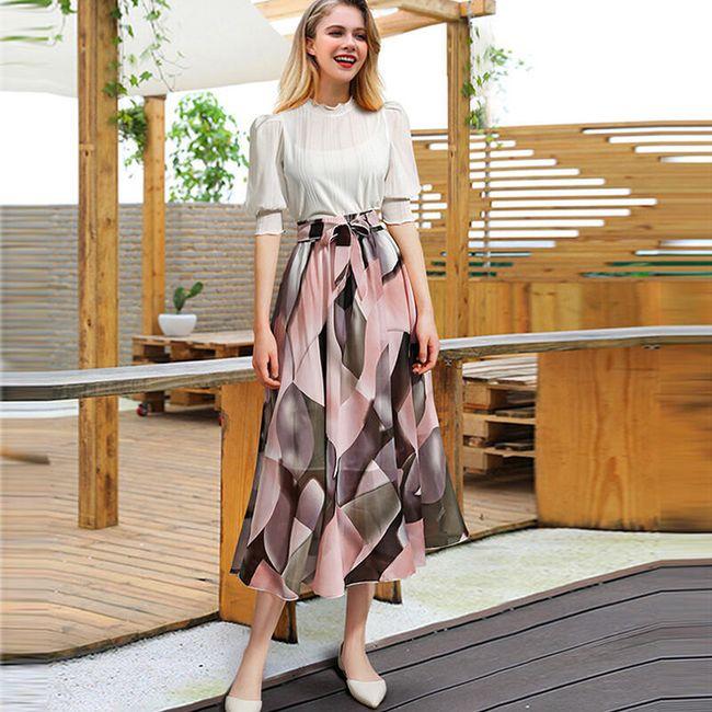 Женская длинная юбка Allis 1