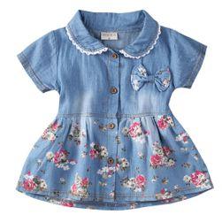 Dívčí šaty Teal