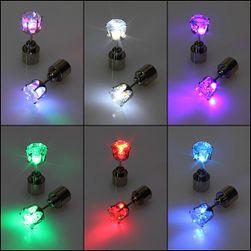 Мигащи LED обеци