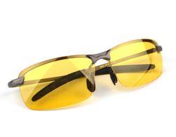 Okulary noktowizyjne w kolorze żółtym