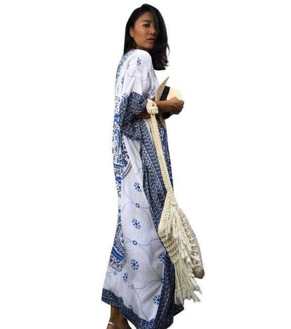 Etnikai szellős ruhák - különböző változatok