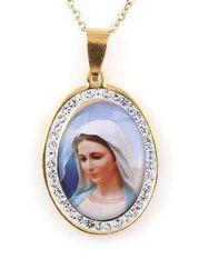 Damski naszyjnik Virgin Mary