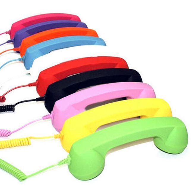 Retro słuchawka do telefonu komórkowego - oferujemy 8 kolorów 1