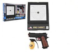 Műanyag pisztoly 6 mm -es lövedékekhez, 45x29x5 cm -es dobozban RM_00311640