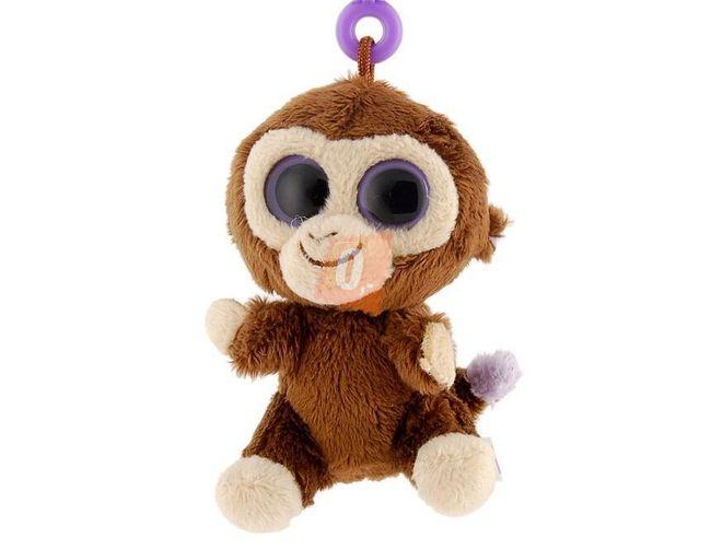 Klíčenka - plyšová hračka - opička 1