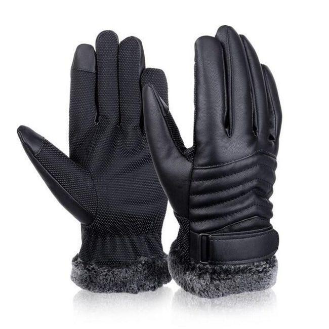 Muške zimske tople rukavice - 2 varijante 1