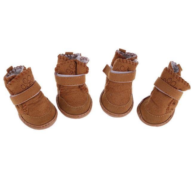 Теплые ботинки для собак- 2 расцветки 1