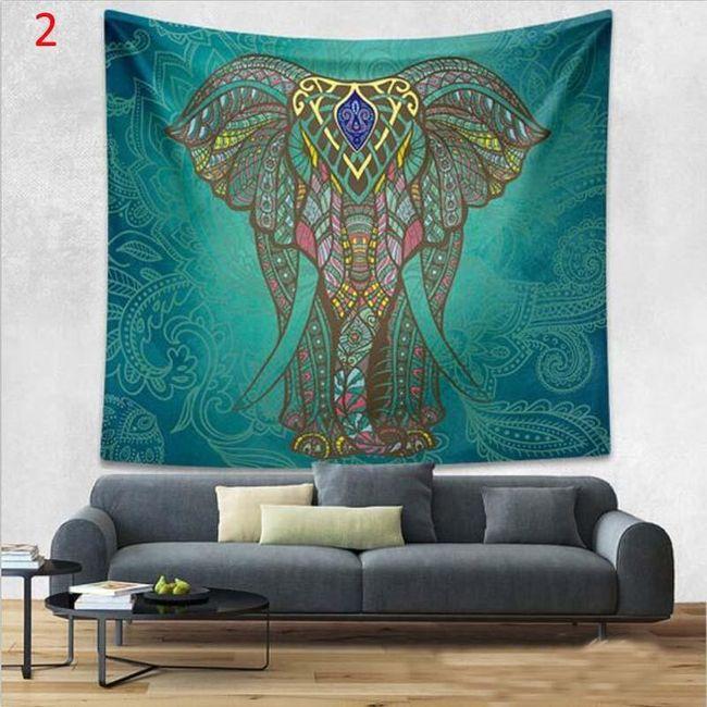 Barevná tapiserie na zeď 150 x 130 cm - 7 motivů 1