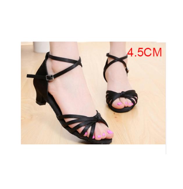 Taneční boty 35 - Černá 4.5-39 1