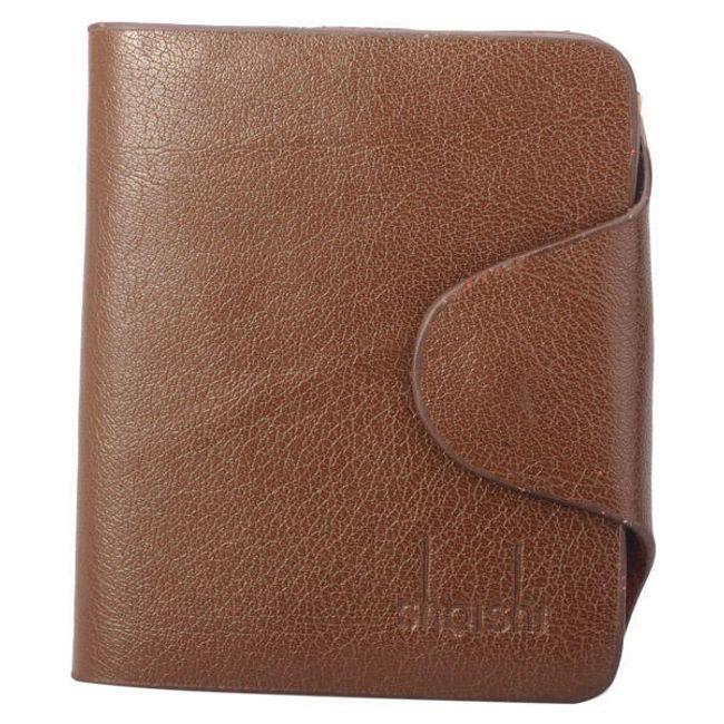 Pánská kožená peněženka v hnědé barvě 1