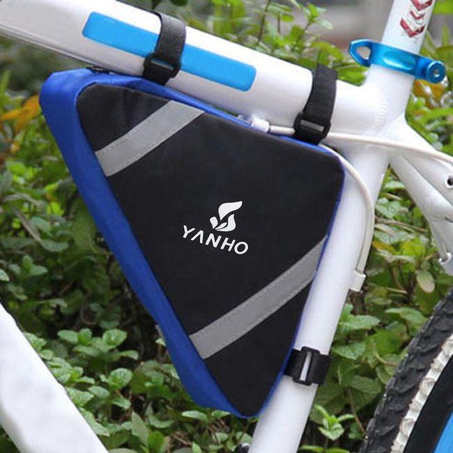 Trójkątna torba na ramę roweru - 4 kolory 1