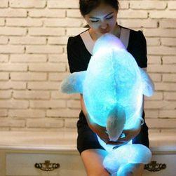 Светящаяся LED подушка- Дельфин
