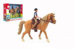 Kôň + džokej plast 15 cm v krabici 20x16x5,5cm RM_00850390