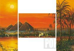 Triptych puzzle Dojmy z Egypta 3x500 dílů PD_1003551