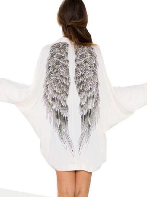 Kardigán angyal szárnyakkal  1