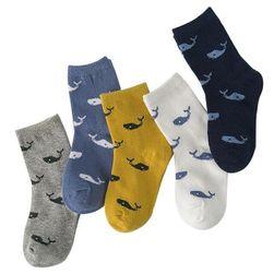 Aranyos baba zokni - 5 pár
