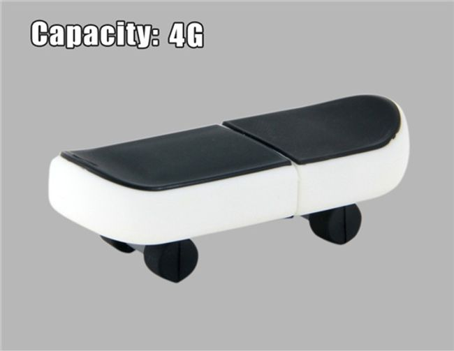 4GB Flashdisk - skateboard 1