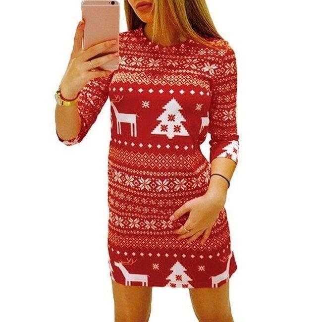 Božićna haljina - 2 varijante 1