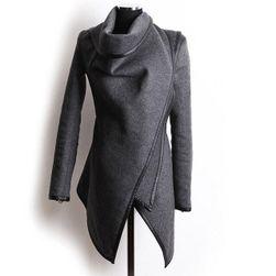 Женское пальто Vittoria в элегантном фасоне - 3 цвета