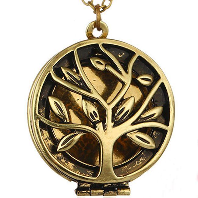 Dámský vintage náhrdelník s přívěskem - strom života 1