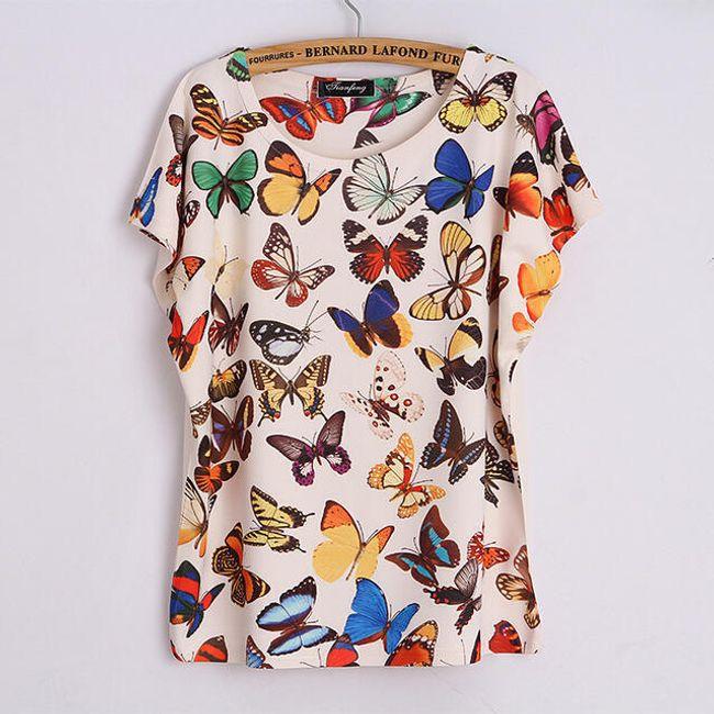 Triko s motýlky 1