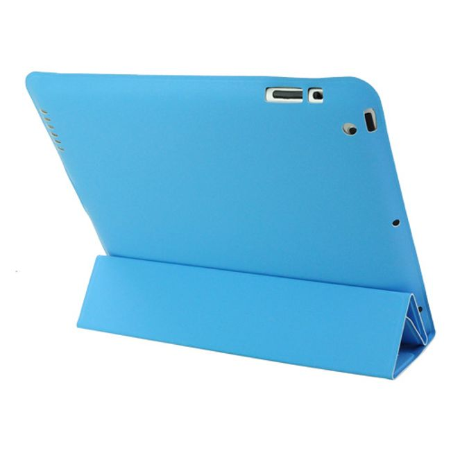 Magnetické chytré pouzdro pro nový iPad - modré ultratenké 1