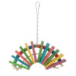 Drvena igračka za papagaja