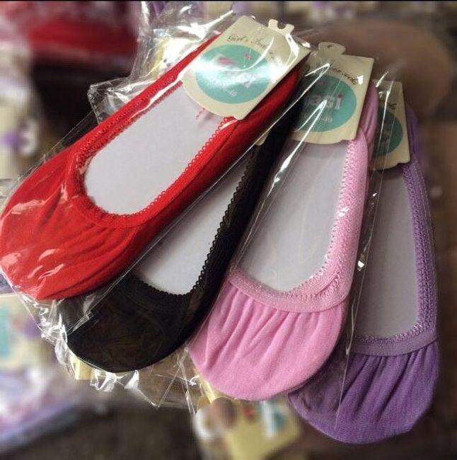 Ballerina zokni - több szín