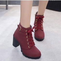 Dámské boty na podpatku Chrystal