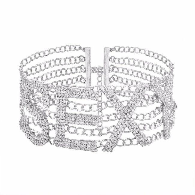 Ženska ogrlica B03855 1