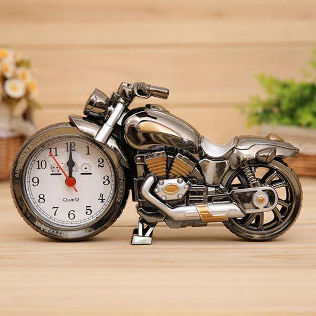 Motosiklet biçimde çalar saat 1