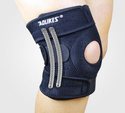Ortéza na koleno na suchý zip