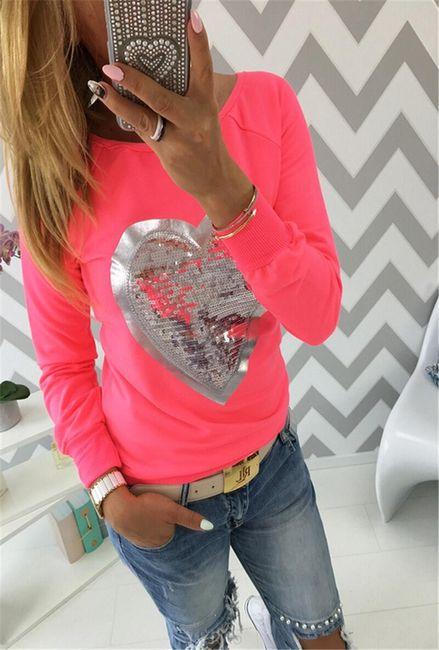 Ženska majica Dinah dugih rukava - 3 boje 1