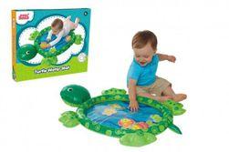 Zábavná vodní podložka želva nafukovací 84x61cm s doplňky 5ks v krabici 29x24x5cm 6m+ RM_00517033