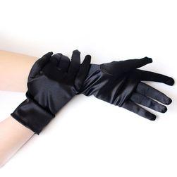 Krásné saténové rukavičky na ples - 3 barvy