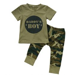 Set haine camuflaj pentru copii - 2 variante