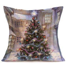 Povlak na polštář - vánoční motivy