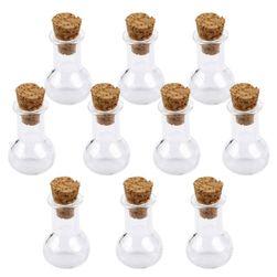 Set malih staklenih boca sa zatvaračem od plute