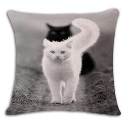 Povlak na polštář s kočičkou - 19 variant