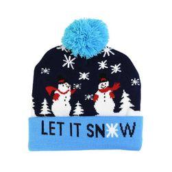 Новогодняя шапка WF5