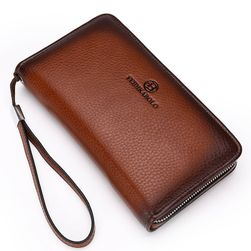 Luxus férfi pénztárca, telefon tartóval