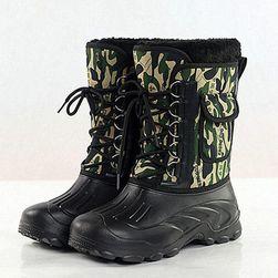 Pánské zimní boty s kapsičkou