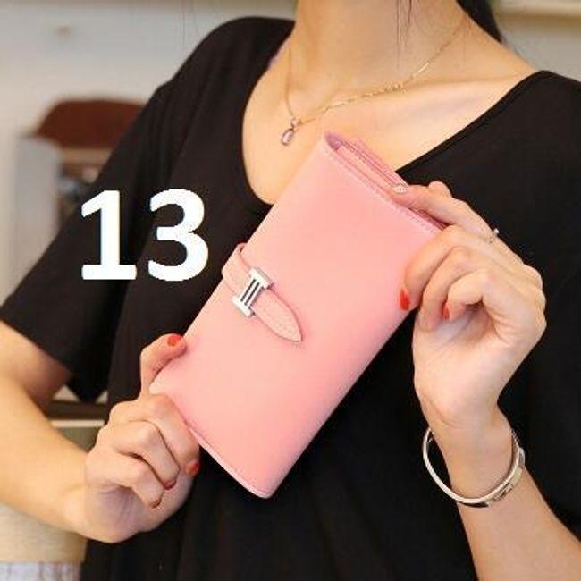 Női pénztárca pasztell színekben - 13 szín
